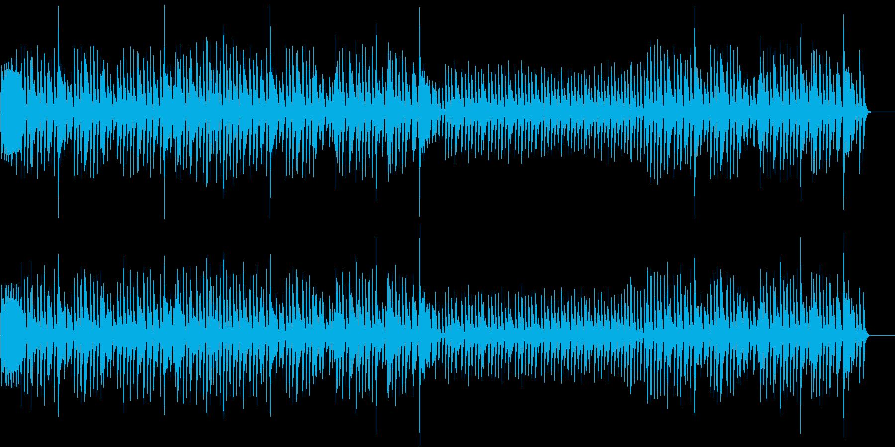 晴れた日の散歩道1(ピアノ)の再生済みの波形