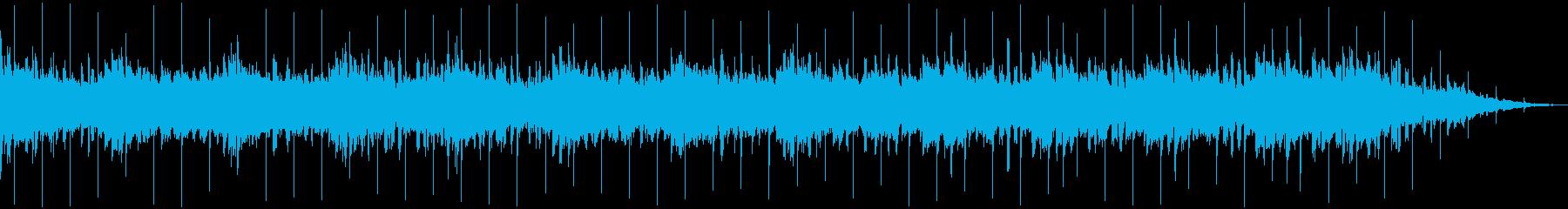 ミステリー系曲の再生済みの波形