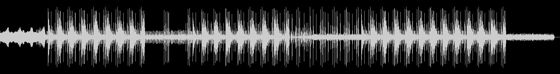 怪しい洋楽トラップビートの未再生の波形