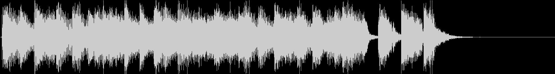 渋いサックス音源使用のジングルですの未再生の波形