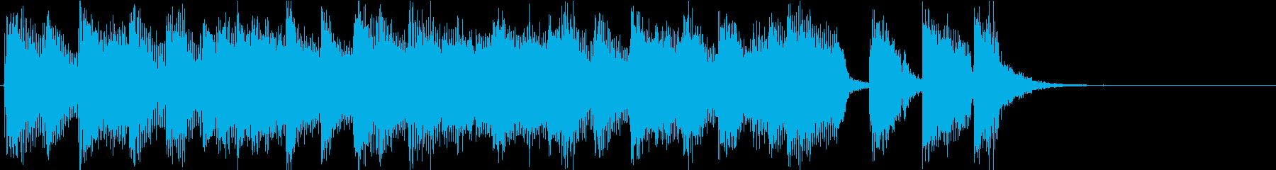渋いサックス音源使用のジングルですの再生済みの波形