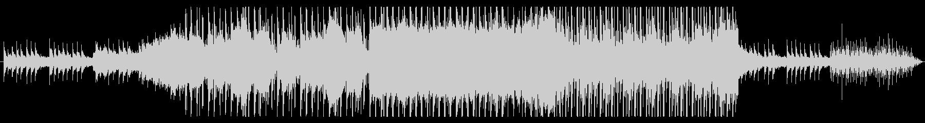 三味線風サウンドが印象的なEDMの未再生の波形