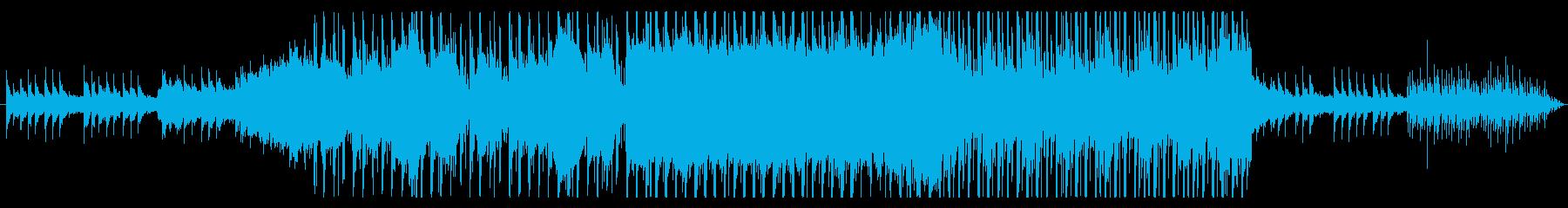 三味線風サウンドが印象的なEDMの再生済みの波形