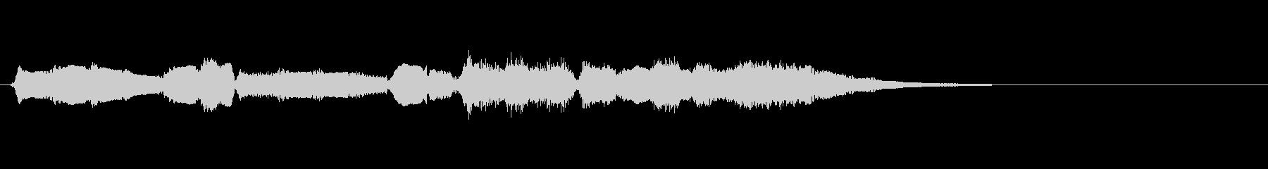 【生演奏】アコーディオンジングル25の未再生の波形