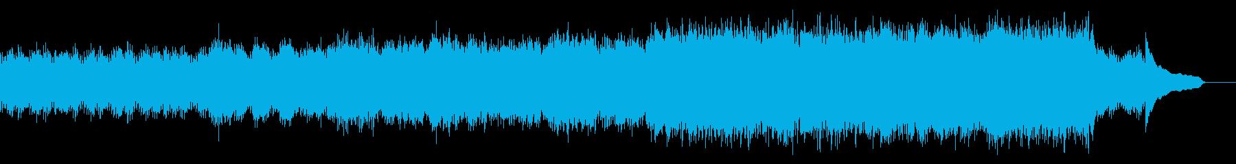 企業VP映像、103オーケストラ、爽快bの再生済みの波形