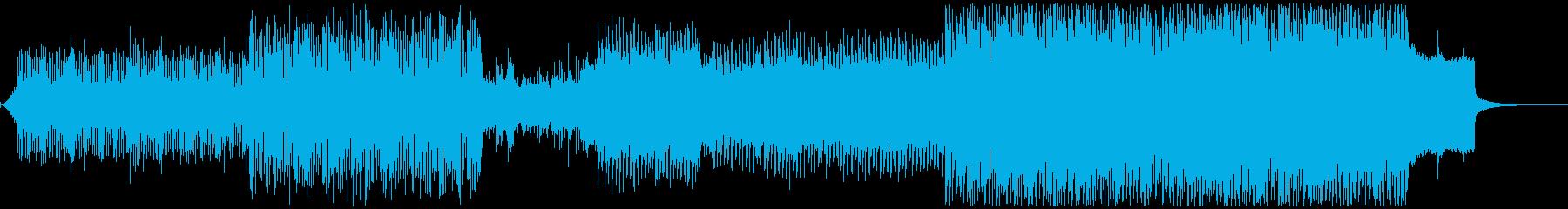 ニューエイジエレクトロ。きらめく催...の再生済みの波形