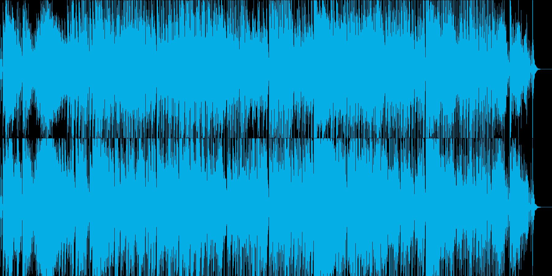 BGM 和楽器 琴 三味線 シンセの再生済みの波形