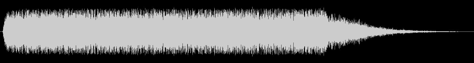 緊張 昇順カオス04の未再生の波形