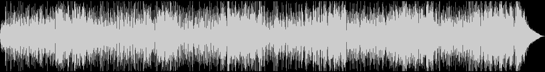 生演奏・フルートとストリングスのボサノバの未再生の波形