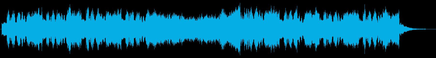 ファンファーレチックなシンセブラスの再生済みの波形