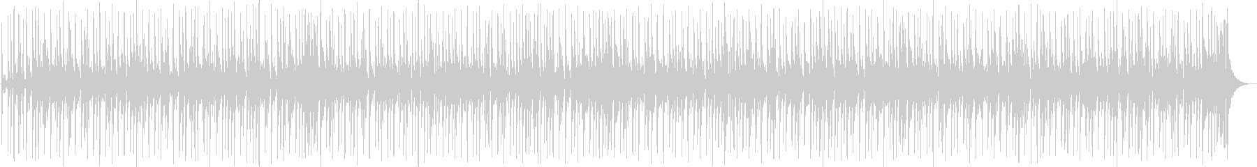 ファンキーなスラップベースの未再生の波形