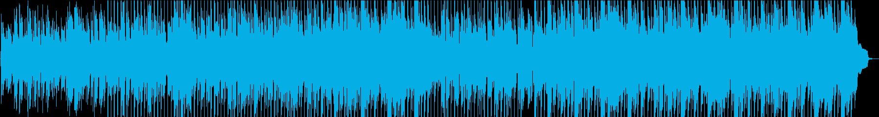 美しい民俗音楽の再生済みの波形