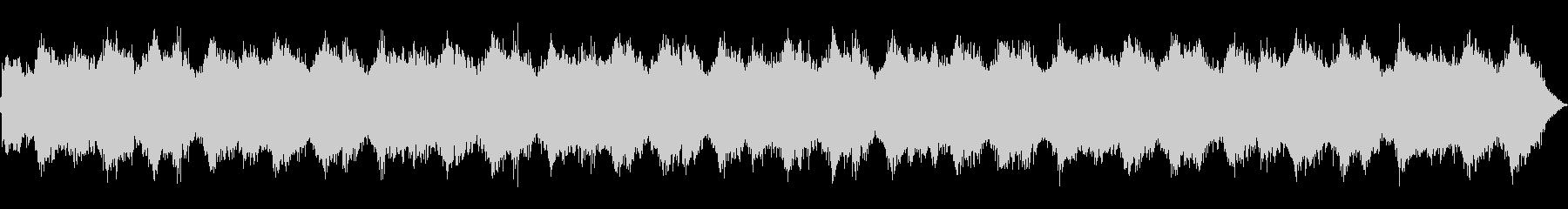 架空の教会でのミサ描写の未再生の波形