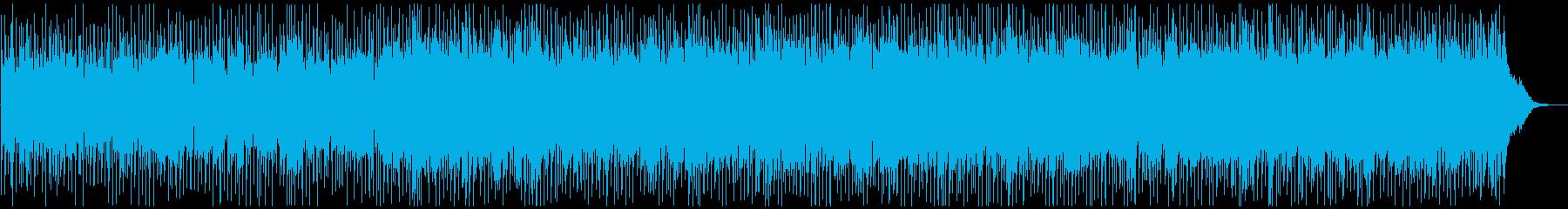 疾走感のあるカントリーロックの再生済みの波形