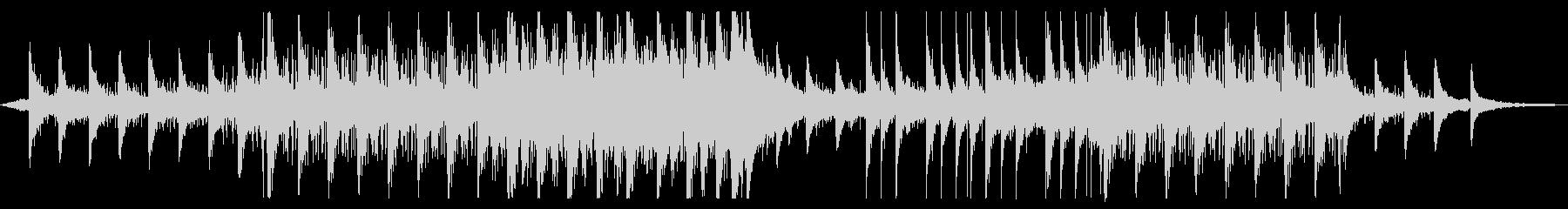 幻想・異空間なアンビエント曲の未再生の波形