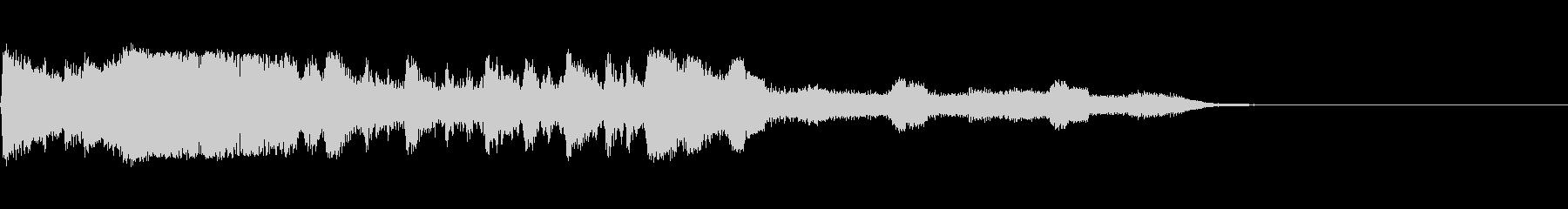 ジャンカードタグ1の未再生の波形