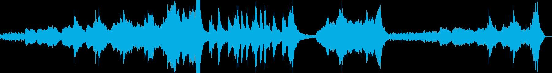 プロローグ系、うまくハマれば映えるかもの再生済みの波形