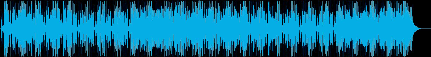 レゲエ、トロピカル、南国、海、ギターの再生済みの波形
