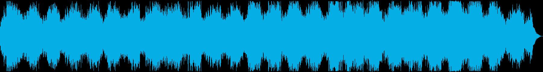 PADS ジャングルオブテンション01の再生済みの波形