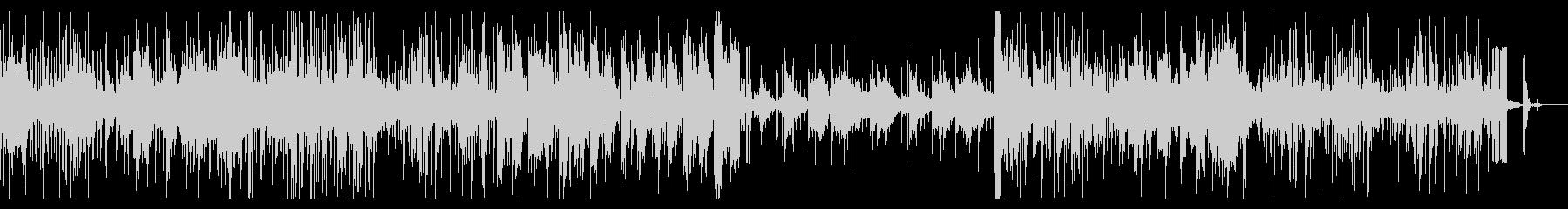 グリッジな実験音楽風ファンクIDMの未再生の波形