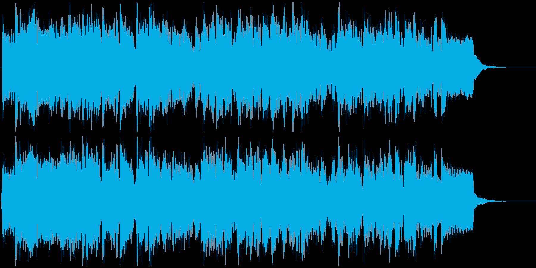 シティポップ系サックスジングル CM等にの再生済みの波形