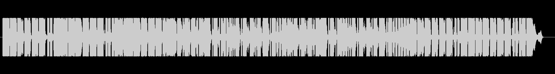 きらきらとしたfuture bassの未再生の波形