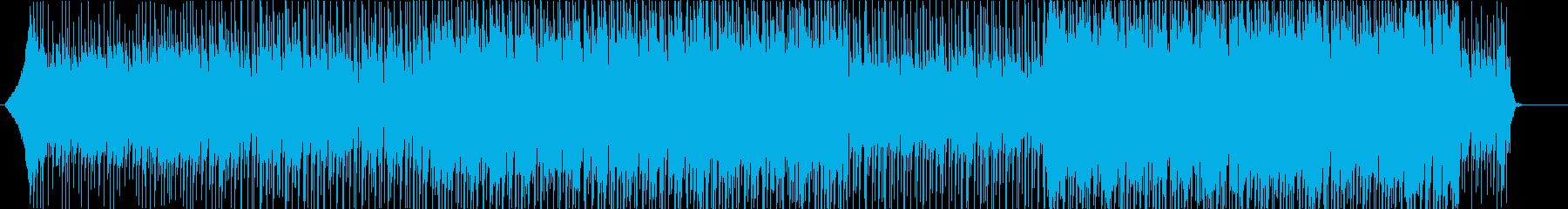 企業VP・希望・エレクトロ・四つ打ちの再生済みの波形