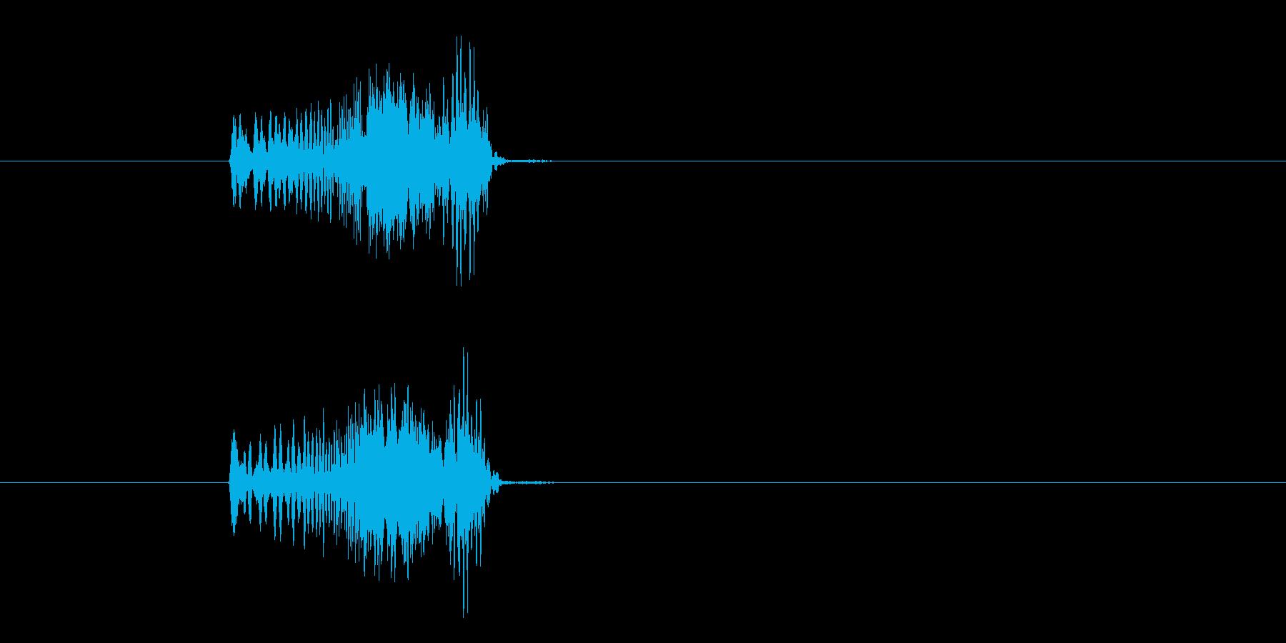 モニター表示SE、宇宙船、SF、効果音…の再生済みの波形