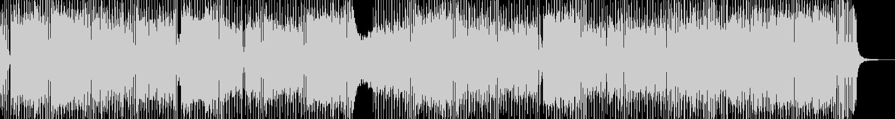 危機・鉄壁の3連符テクノ エレキギター有の未再生の波形