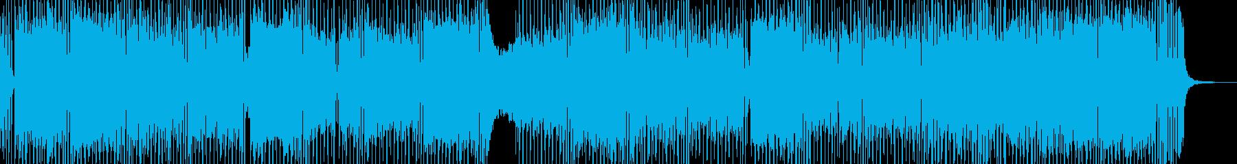 危機・鉄壁の3連符テクノ エレキギター有の再生済みの波形