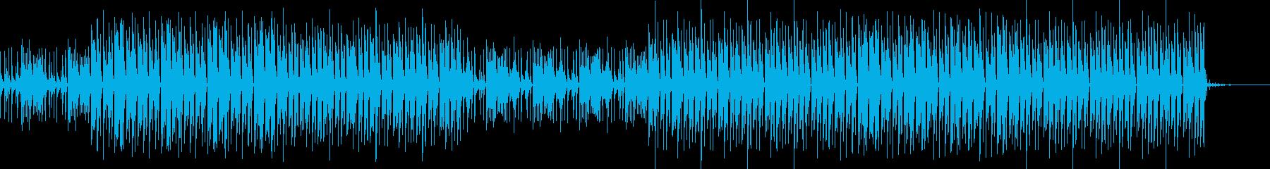 おしゃれ・カントリー・EDM・空気感の再生済みの波形