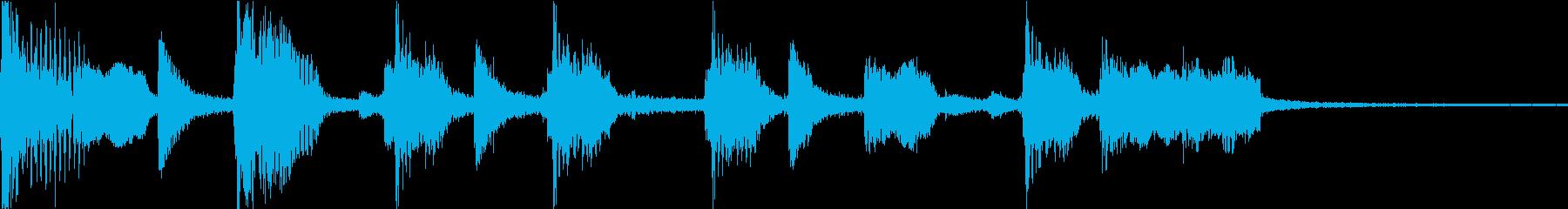 T.V.現代の現実。弾力性のあるコ...の再生済みの波形