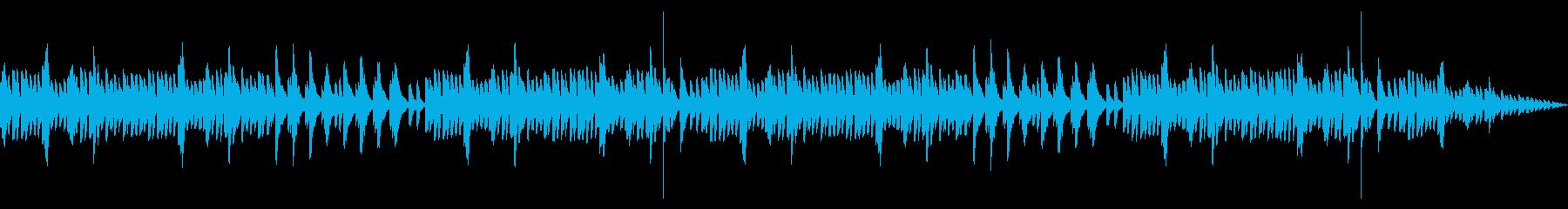 【癒し】回想シーンに使えるオルゴールの再生済みの波形
