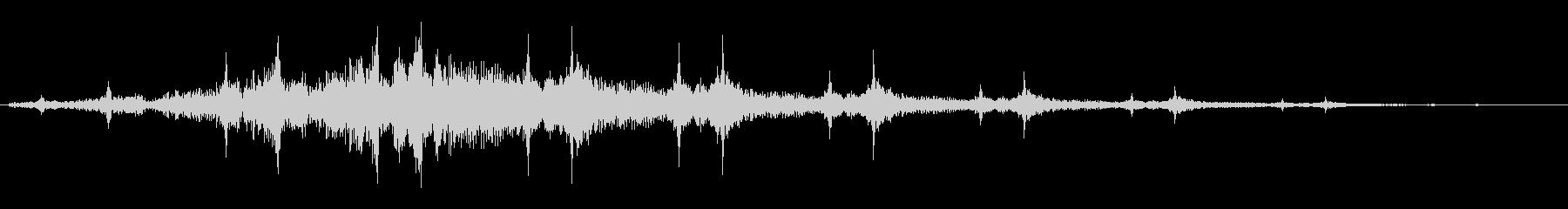ピヨンヨン(近未来間を感じるビームの音)の未再生の波形