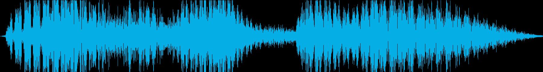 ロボットボイス3の再生済みの波形