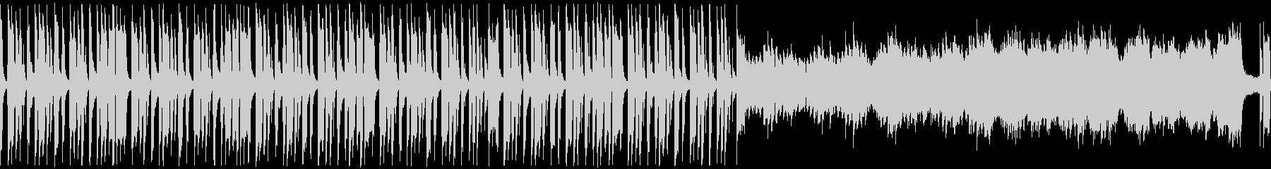 ほのぼのかわいい日常系BGM ループ版の未再生の波形
