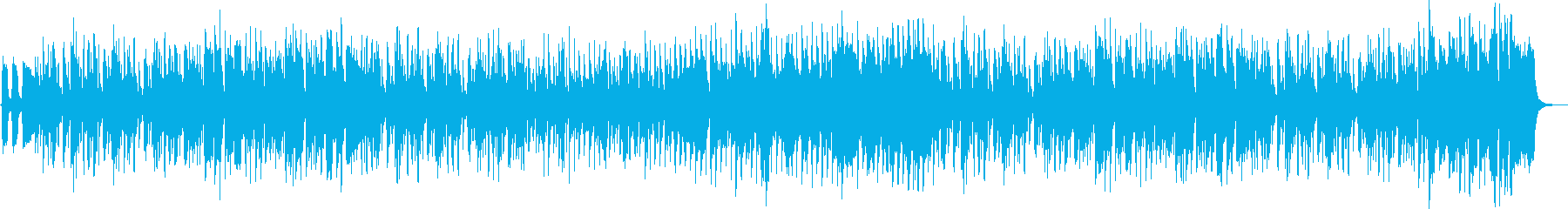 Country-style fun harmonica and fiddle's reproduced waveform