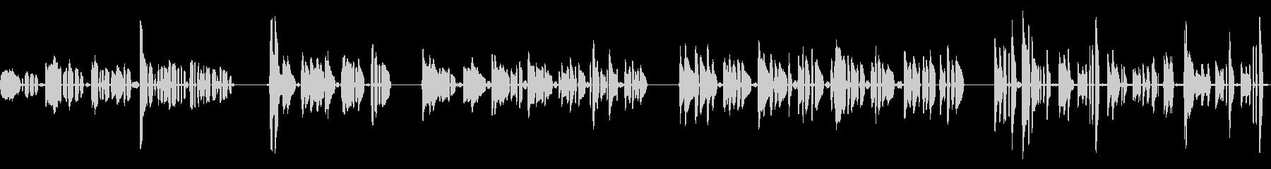 ハミングアチューン、ヒューマン、マ...の未再生の波形