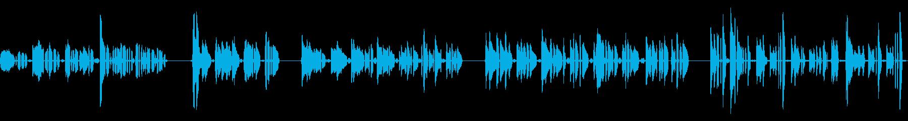 ハミングアチューン、ヒューマン、マ...の再生済みの波形