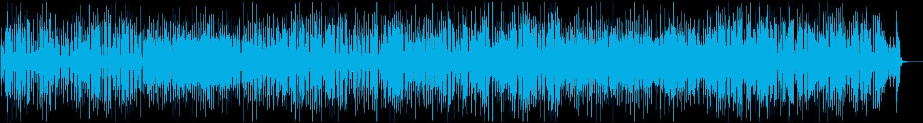 軽快リコーダーほのぼのハッピー脱力ジャズの再生済みの波形