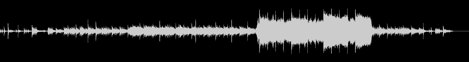 チェロとオルゴールの幻想的なBGMの未再生の波形