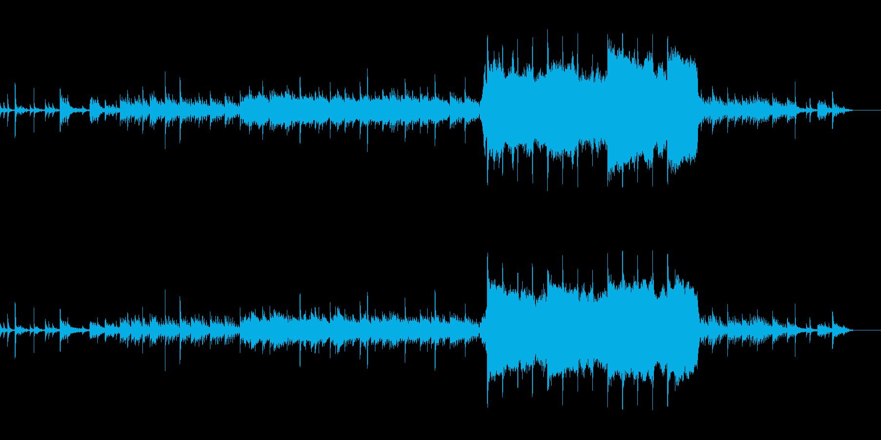 チェロとオルゴールの幻想的なBGMの再生済みの波形