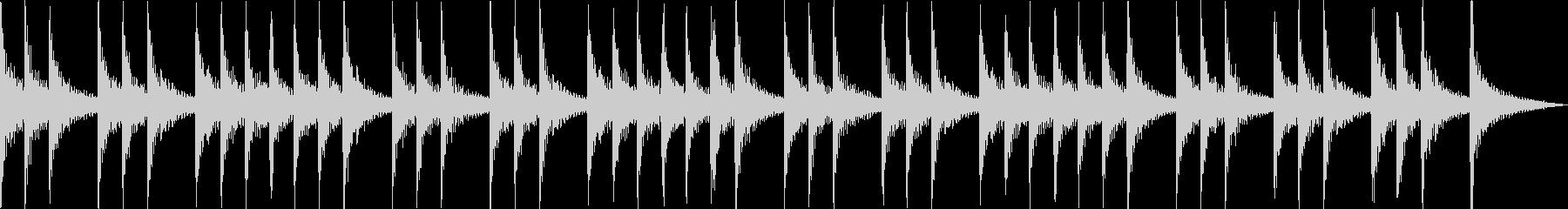 三三七拍子 太鼓と拍子木アンサンブルの未再生の波形