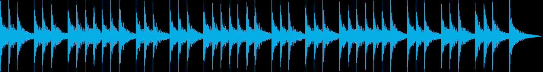 三三七拍子 太鼓と拍子木アンサンブルの再生済みの波形