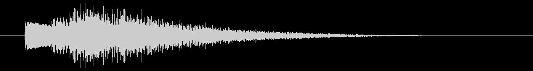 キラキラ/魔法/詠唱/回復の未再生の波形