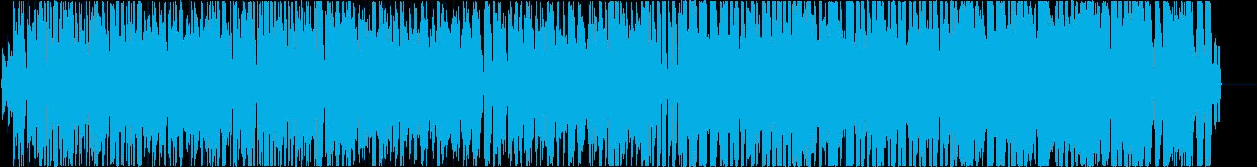 主にTikTokで使える超絶お花畑ソングの再生済みの波形