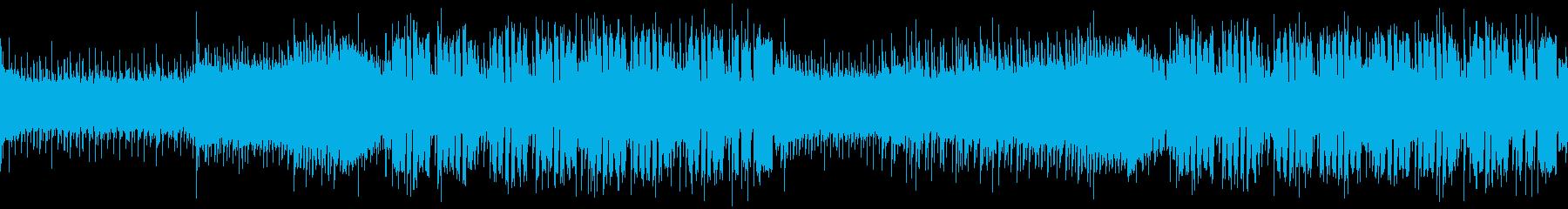 【ループ版】EDM 躍動感・爽やかの再生済みの波形