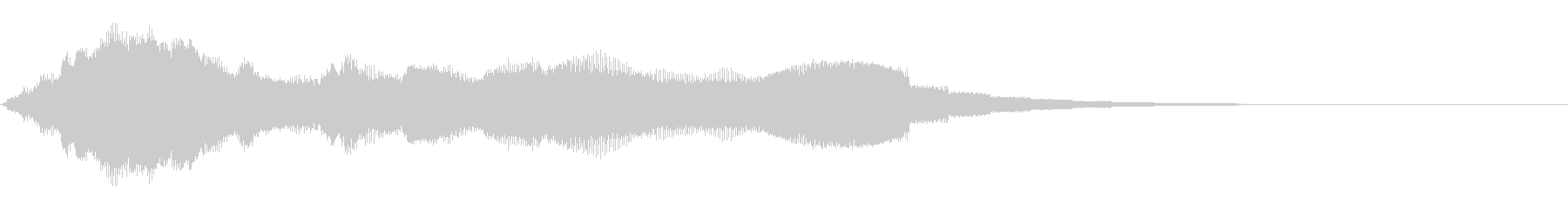 NU外観の未再生の波形
