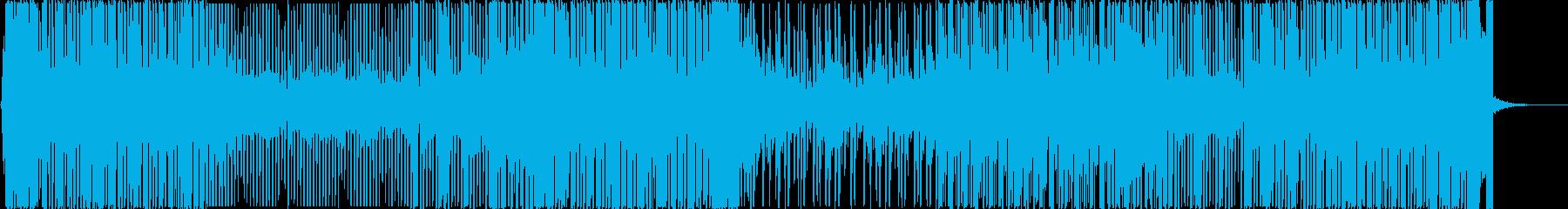 緊迫した状況の駆け引きに最適な音楽の再生済みの波形