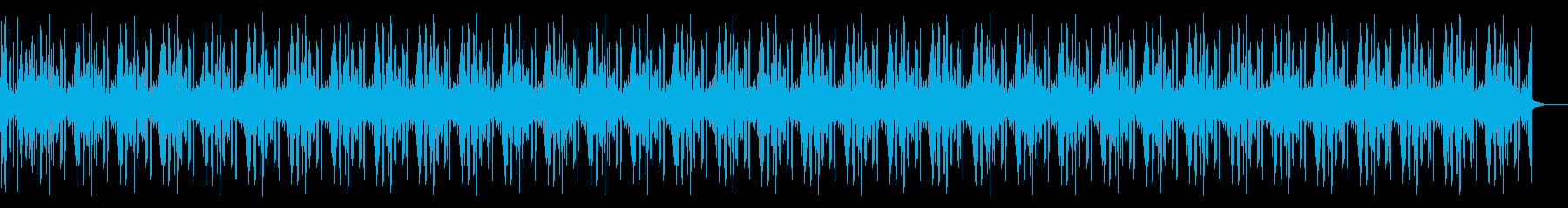 【長尺】水中の音の再生済みの波形